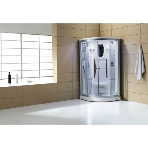 Cabine hidromassagem com sauna AS-011