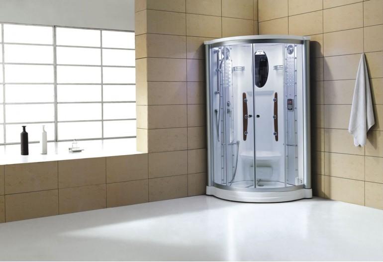 Cabine de hidromassagem com sauna AS-011
