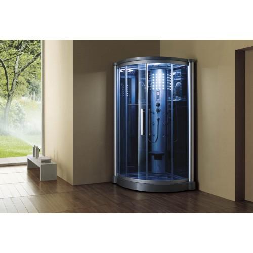 Cabine hidromassagem com sauna AS-012