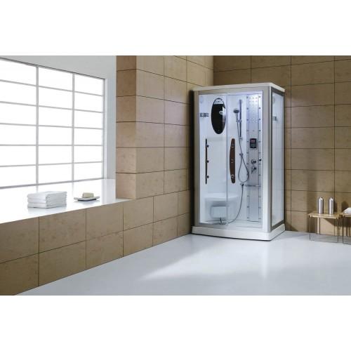 Cabine hidromassagem com sauna AS-013