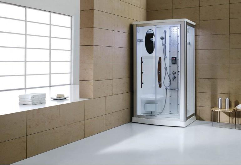 Cabine de hidromassagem com sauna AS-013