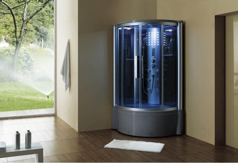 Cabine de hidromassagem e banheira com sauna AT-013