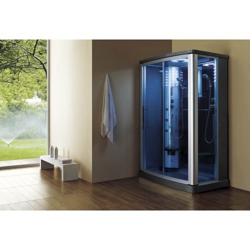 Cabine hidromassagem com sauna AS-016