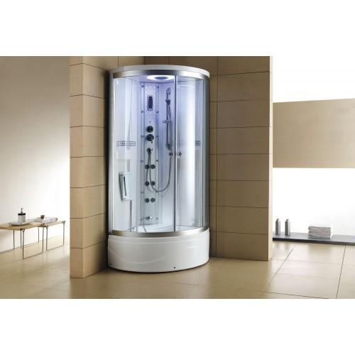 Cabine hidromassagem e banheira com sauna AT-001-1