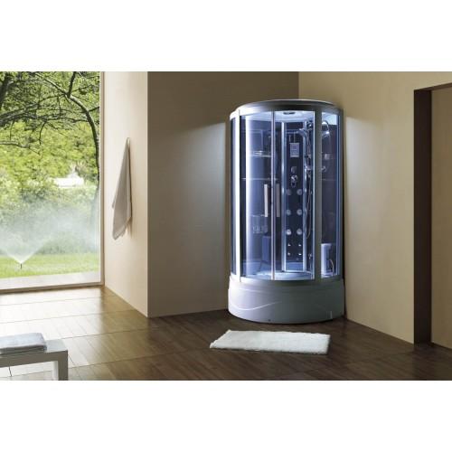 Cabina hidromasaje y bañera con sauna AT-003