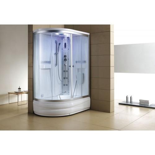 Cabine de hidromassagem e banheira com sauna AT-004