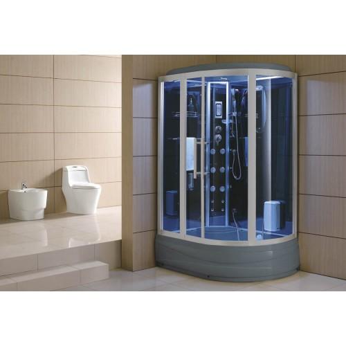 Cabine hidromassagem e banheira com sauna AT-006