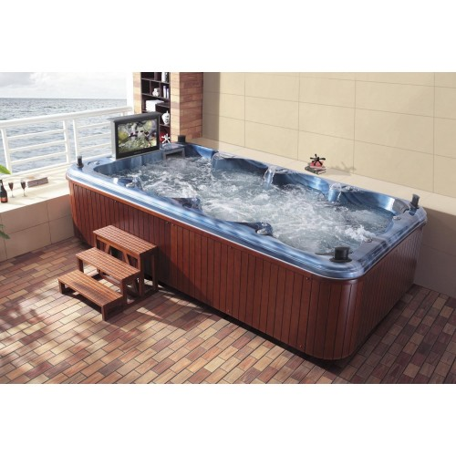 Piscina de hidromassagem swim spa AT-002
