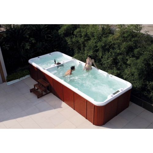Piscina de hidromassagem swim spa AT-004
