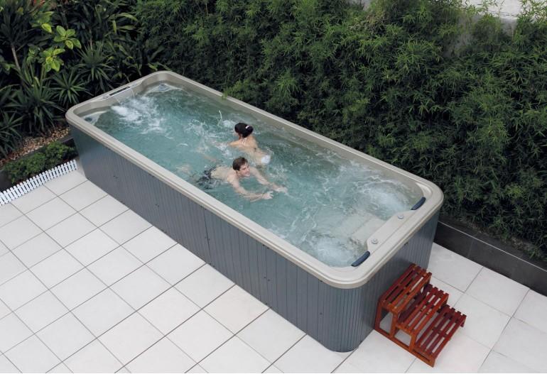 Piscina de hidromassagem spa AT swim-005
