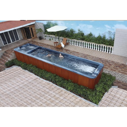 Piscina de hidromassagem swim spa AT-008