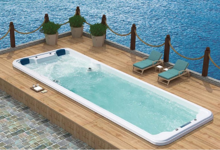 Piscina de hidromassagem spa AT swim-007B