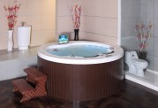 Spa jacuzzi exterior AS-018