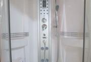 Cabine de hidromassagem e banheira com sauna AT-001