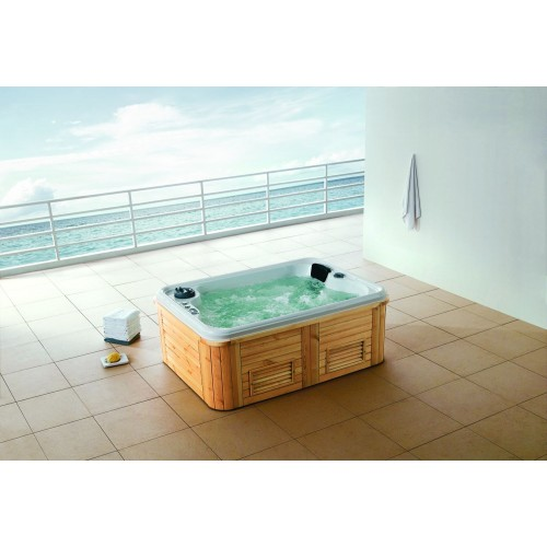 "Spa jacuzzi exterior AW-002 ""low cost"""