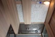 Sauna seca + sauna húmeda con ducha AT-002
