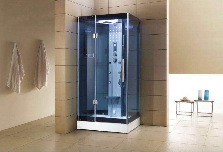 Cabine de hidromassagem com sauna AS-005B