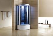 Cabina hidromasaje y bañera con sauna AT-002