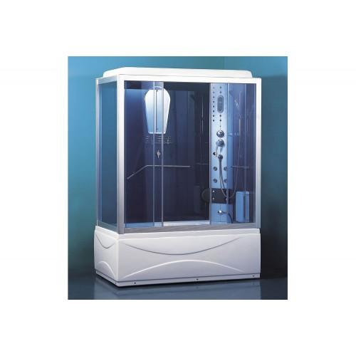 Cabine hidromassagem e banheira com sauna AT-007B