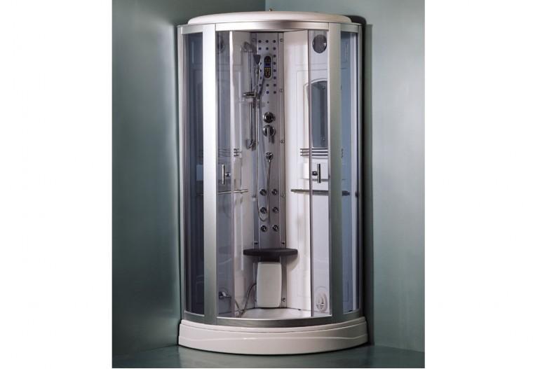 Cabine de hidromassagem com sauna AS-017