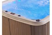 Piscina de hidromassagem swim spa AU-001