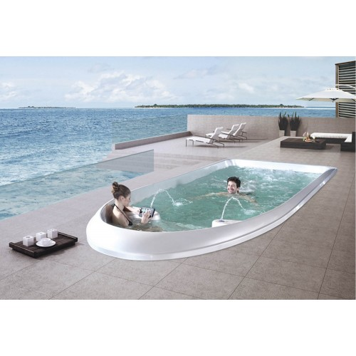 Piscina de hidromassagem swim spa AT-010A