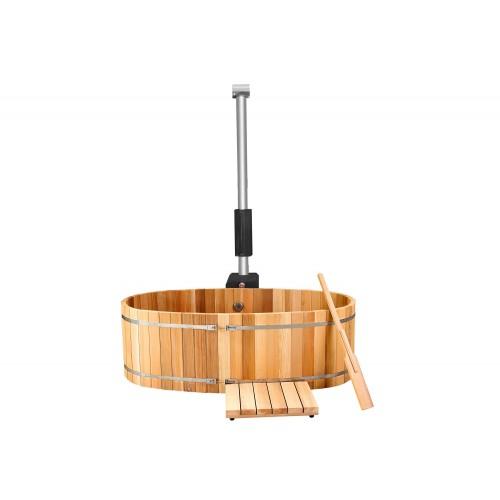 Ofuro japonês / Banheira de madeira exterior AU-001