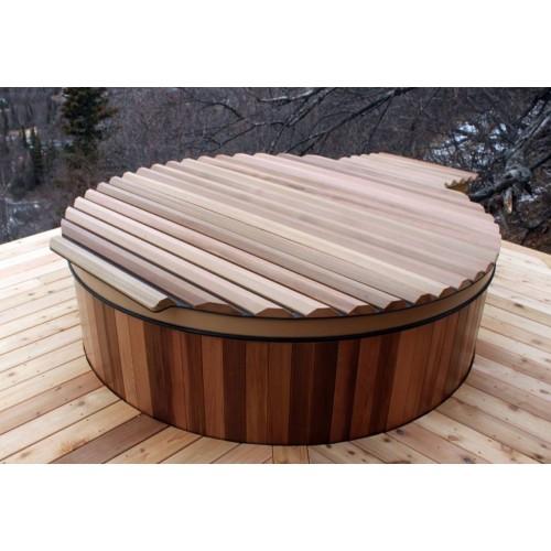 Ofuro japonês / Banheira de madeira exterior AV-001
