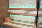Sauna seca + sauna húmeda con ducha AU-002A