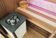 Sauna seca + sauna úmida com ducha AU-002A