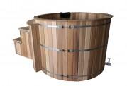 Ofuro japonés / Tina de madera exterior AU-003B
