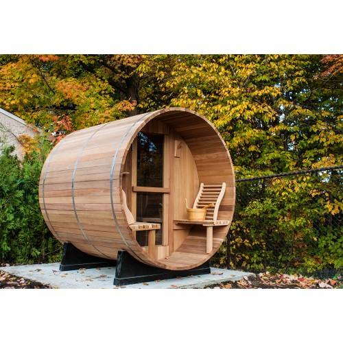 Sauna seca com forma de barril AF-001B